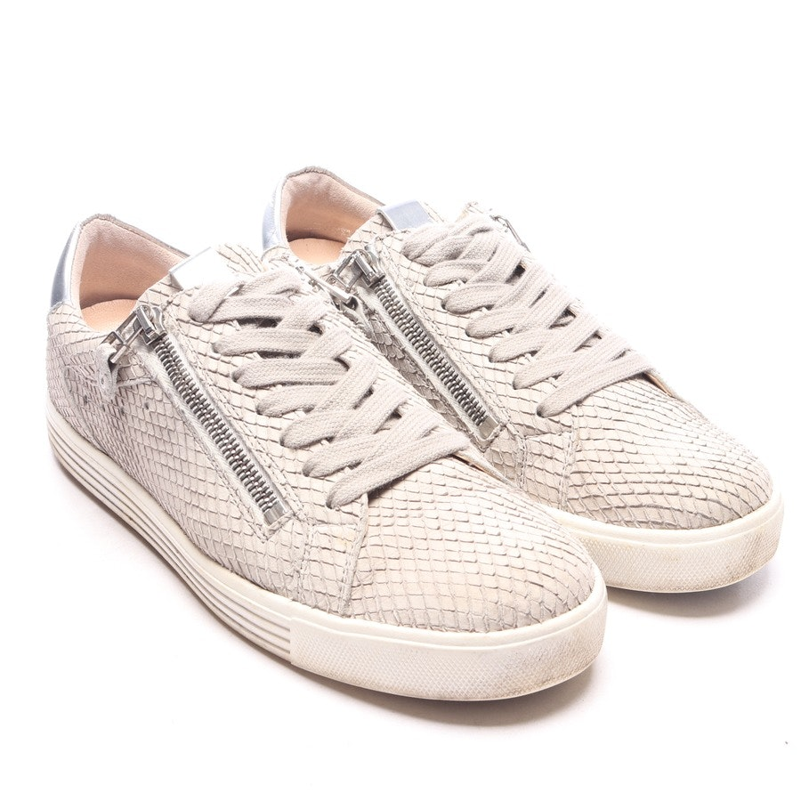 trainers from Kennel & Schmenger in beige and silver size EUR 38 UK 5