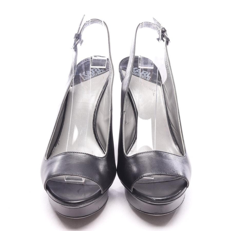 Sandaletten von Karl Lagerfeld in Schwarz Gr. EUR 39