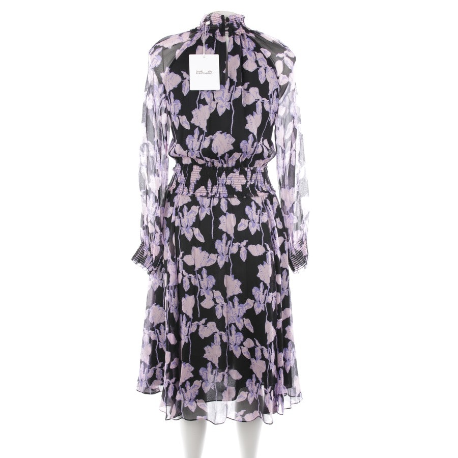 dress from Diane von Furstenberg in black and multicolor size XS - new