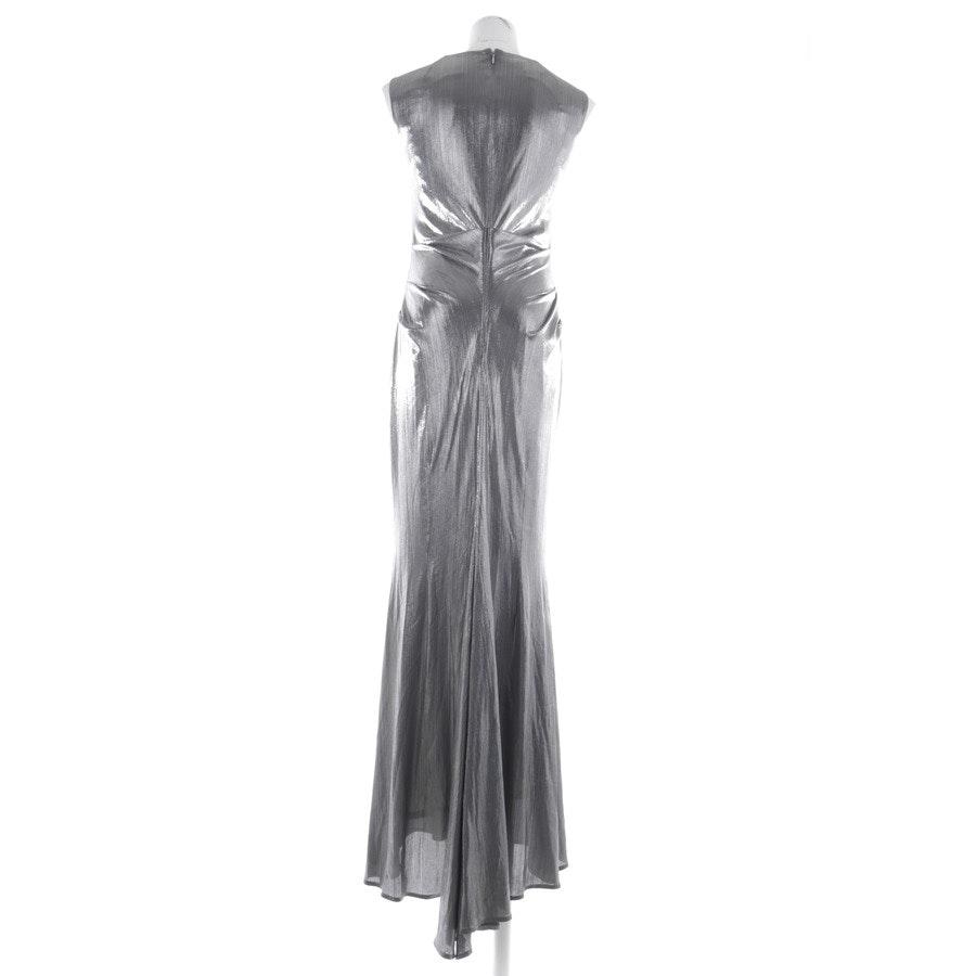 Kleid von Talbot Runhof in Silber Gr. 38