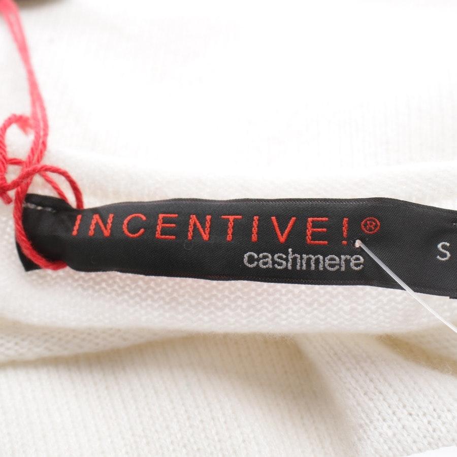 Kaschmirkleid von Incentive! Cashmere in Cremeweiß Gr. S - NEU mit Etikett