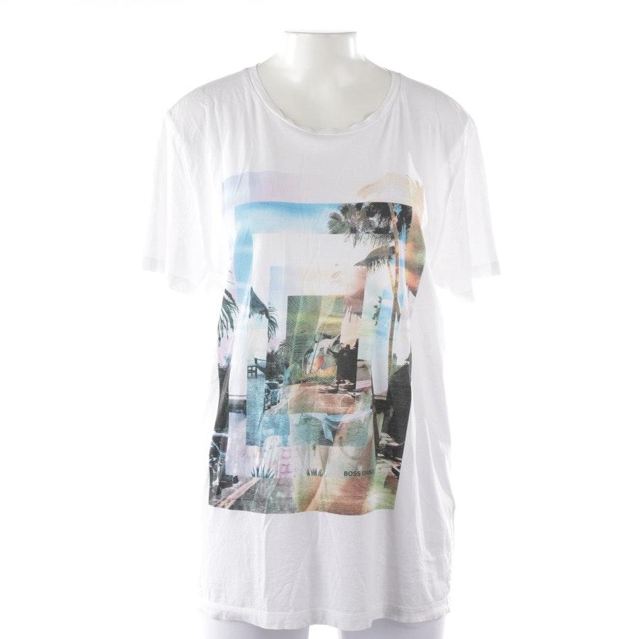 T-Shirt von Hugo Boss Orange in Weiß Gr. M
