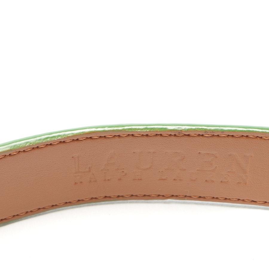 Gürtel von Lauren Ralph Lauren in Grün Gr. S