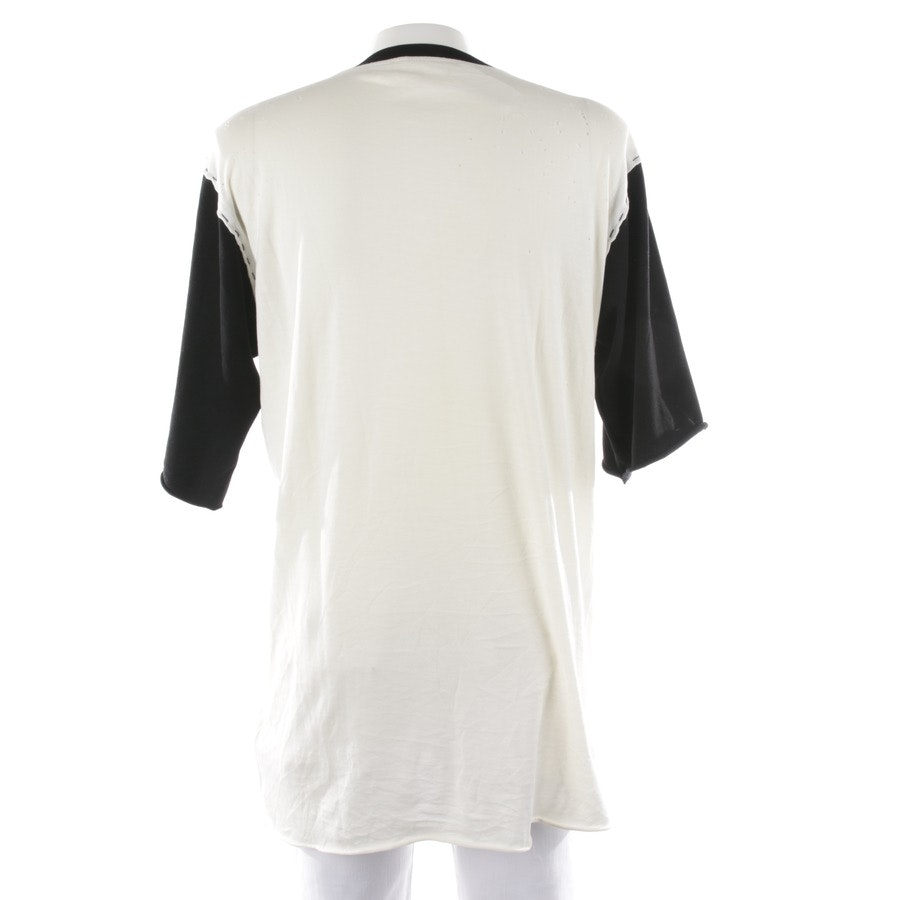 casual shirt from Dolce & Gabbana in cream and black size 54