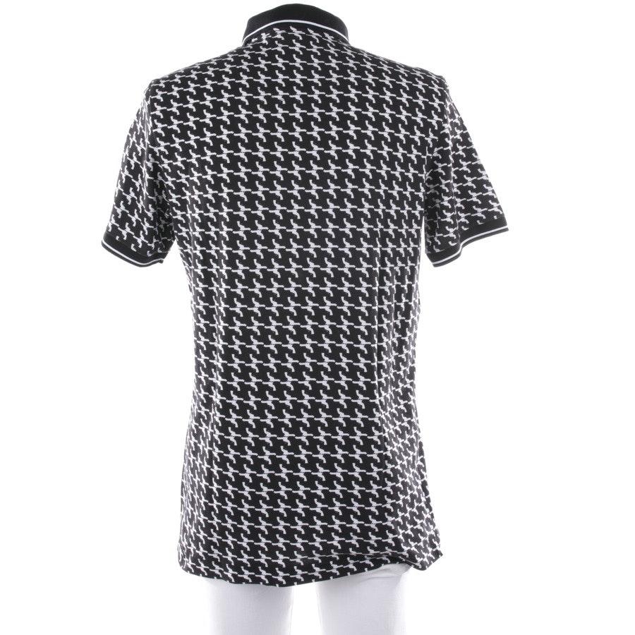 Poloshirt von Dolce & Gabbana in Schwarz und Weiß Gr. 54