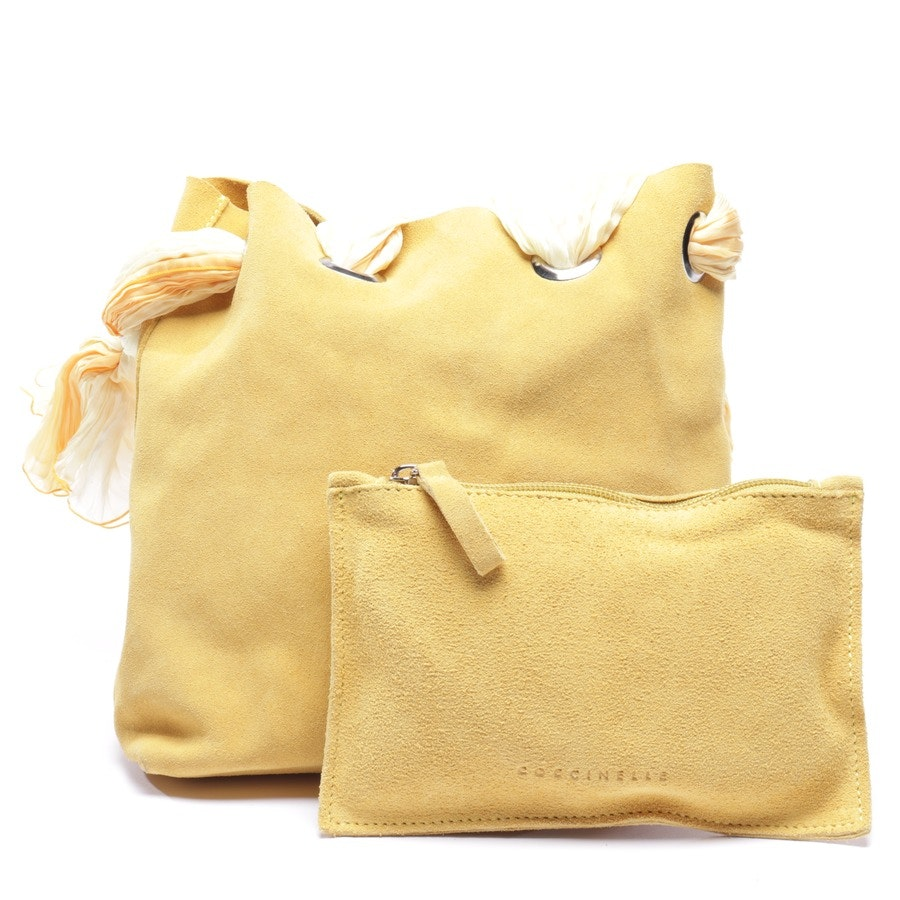 shoulder bag from Coccinelle in yellow