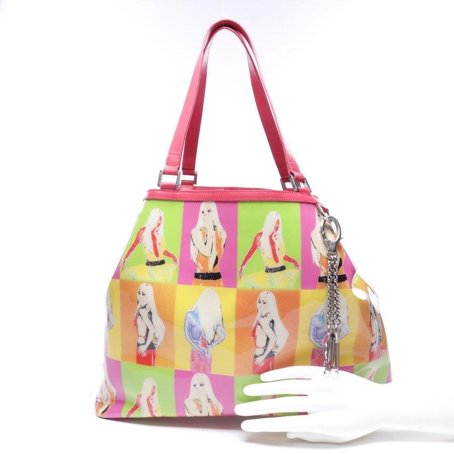 Schultertasche von Versace in Multicolor