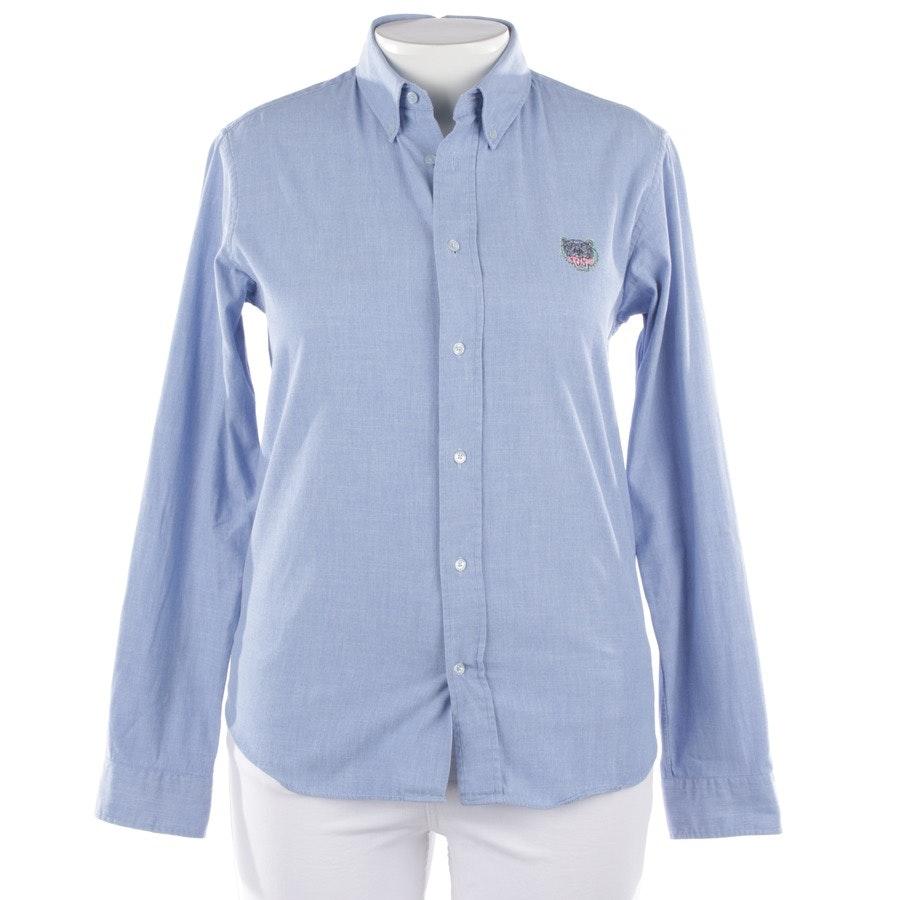 Bluse von Kenzo in Blau Gr. M
