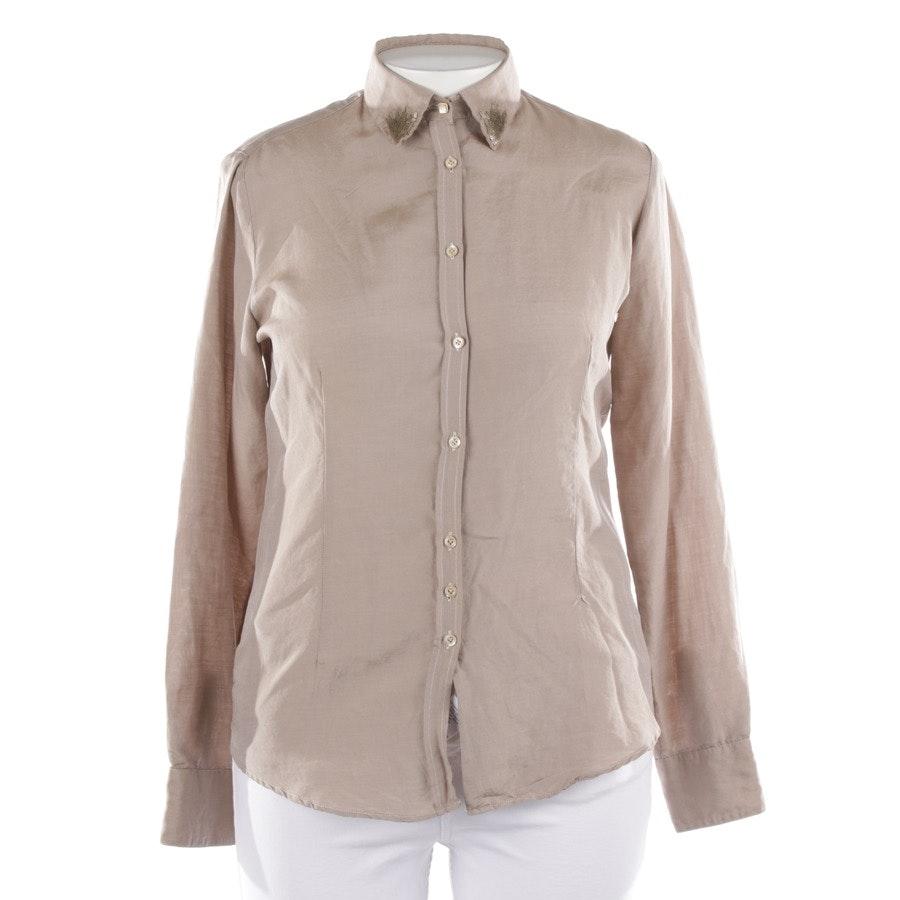 blouses & tunics from Aglini in beige grey size 40 IT 46