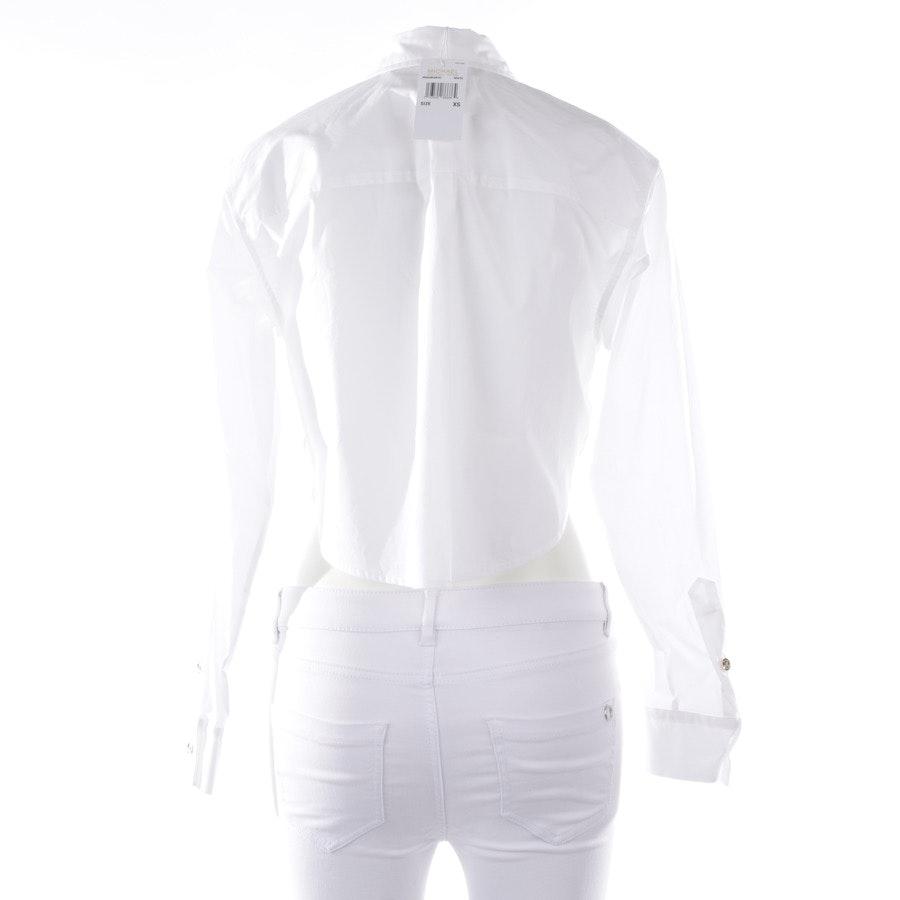 Bluse von Michael Kors in Weiß Gr. XS - Neu