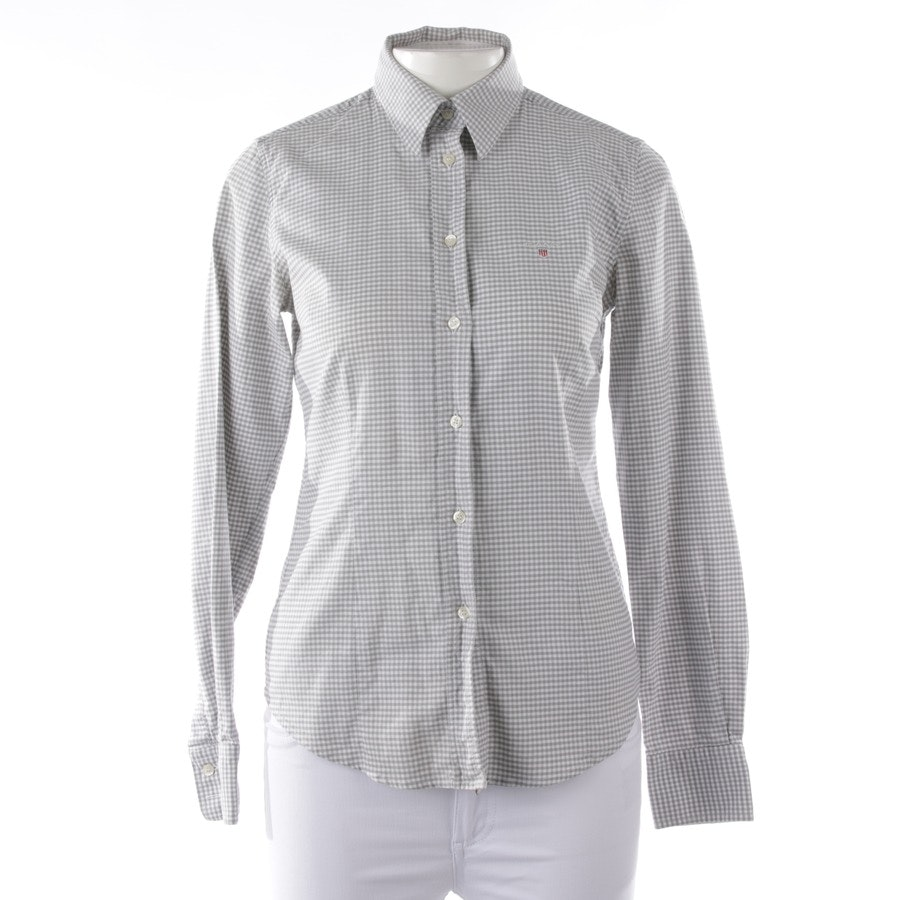 blouses & tunics from Gant in grey and white size 36