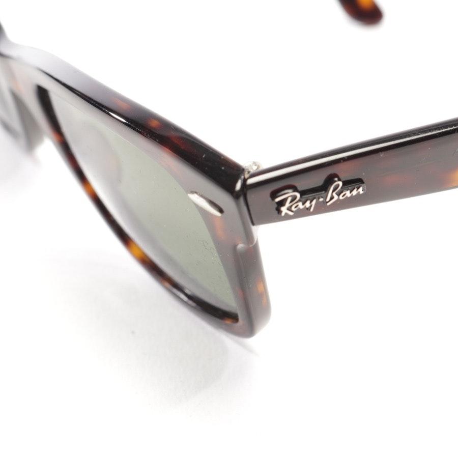 Sonnenbrille von Ray Ban in Braun - Wayfarer