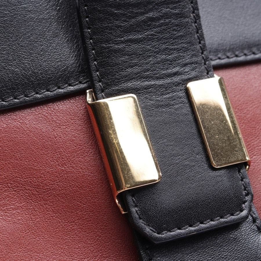 overnighter from Chloé in maroon and black