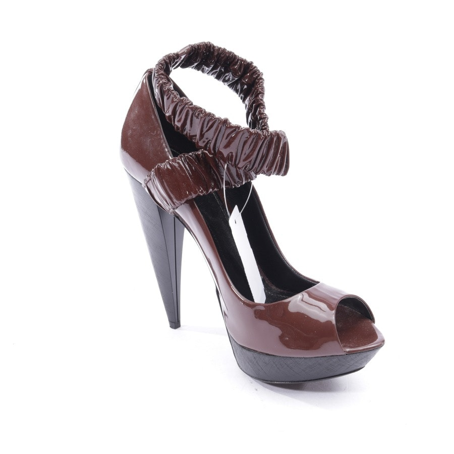 pumps from Burberry in mokkabrown size EUR 37