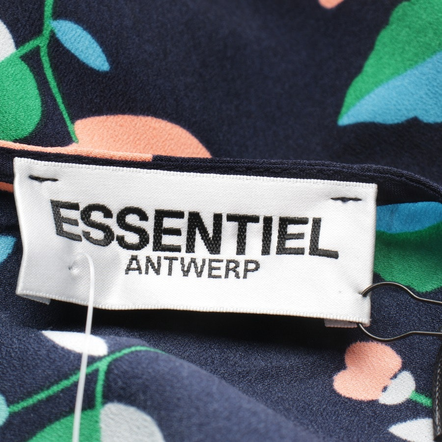 dress from Essentiel Antwerp in night blue and multicolor size 36 - new