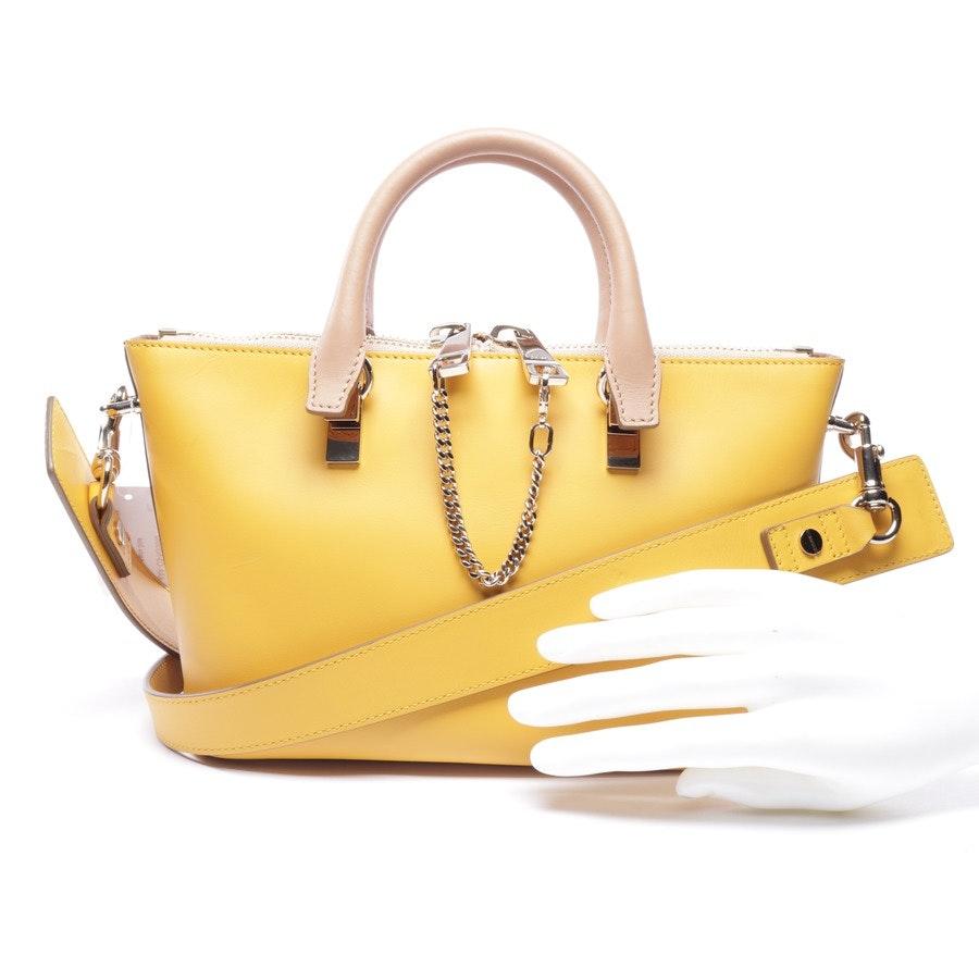 Handtasche von Chloé in Beige und Gelb - Baylee