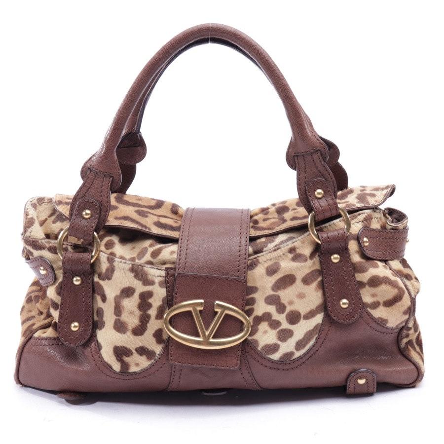 handbag from Valentino in beige brown