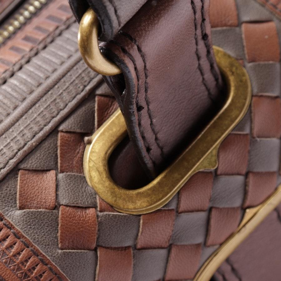 Handtasche von Bottega Veneta in Schlamm und Braun