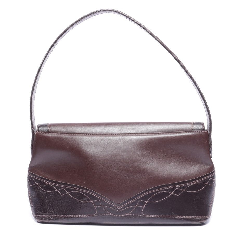 shoulder bag from Etro in chocolate brown