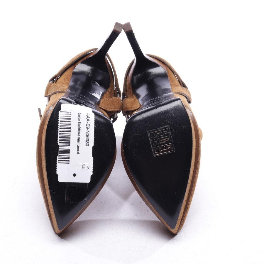 Stiefeletten von Saint Laurent in Schlamm Gr. EUR 36,5 - Neu