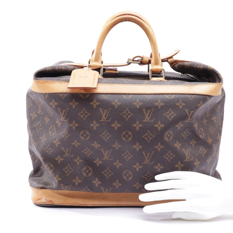 overnighter from Louis Vuitton in brown