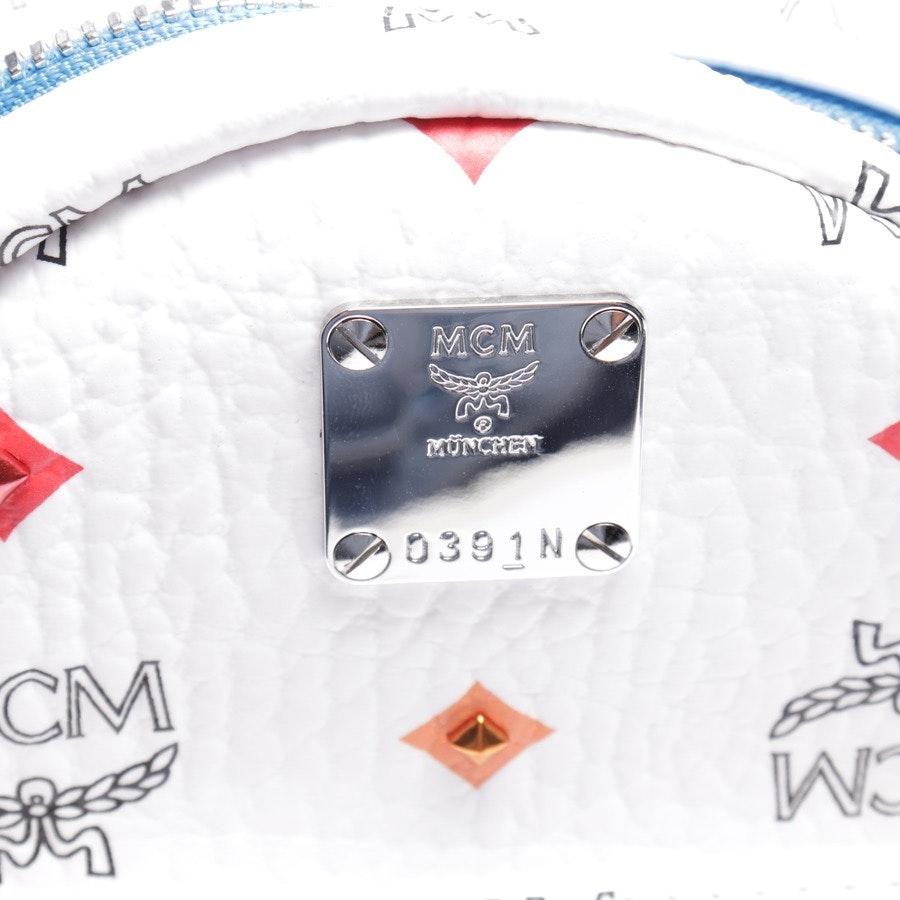 Rucksack von MCM in Weiß und Mehrfarbig