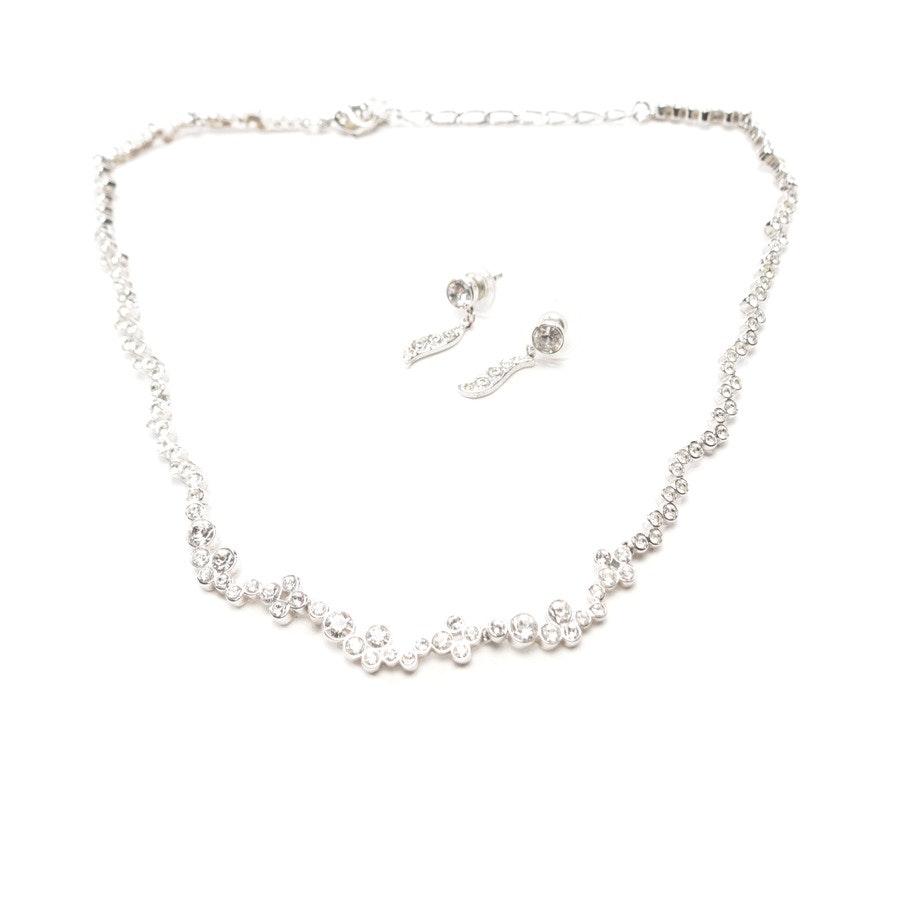 jewellery from Swarovski in silver