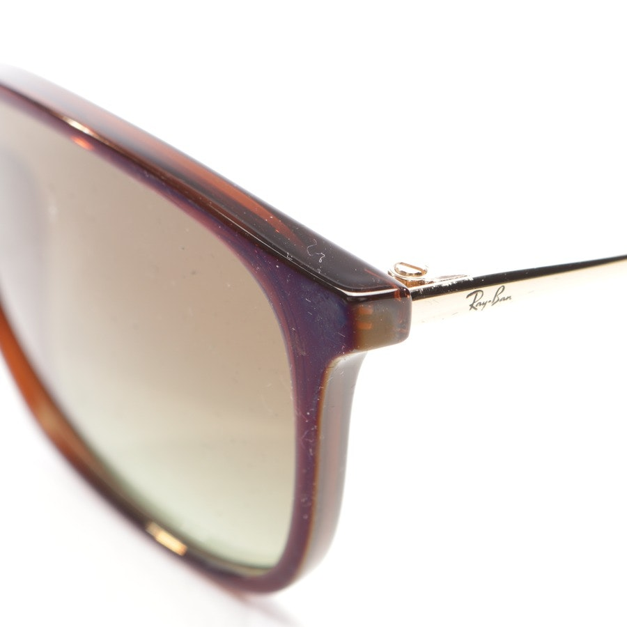 sunglasses from Ray Ban in blue and brown - chris