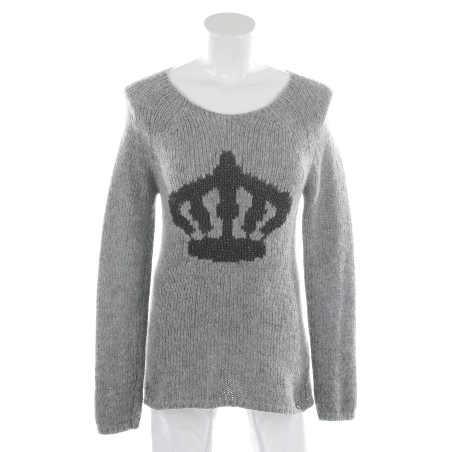 knitwear from Rich & Royal in light grey and black size S