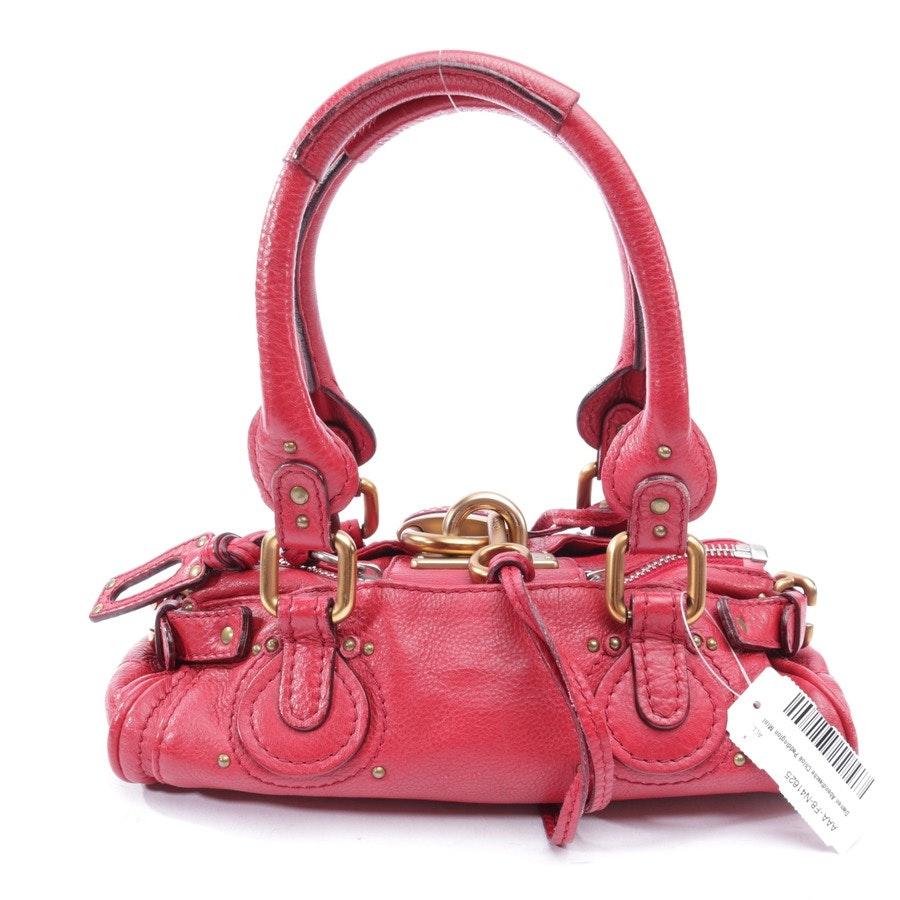 Abendtasche von Chloé in Rot - Paddington Mini