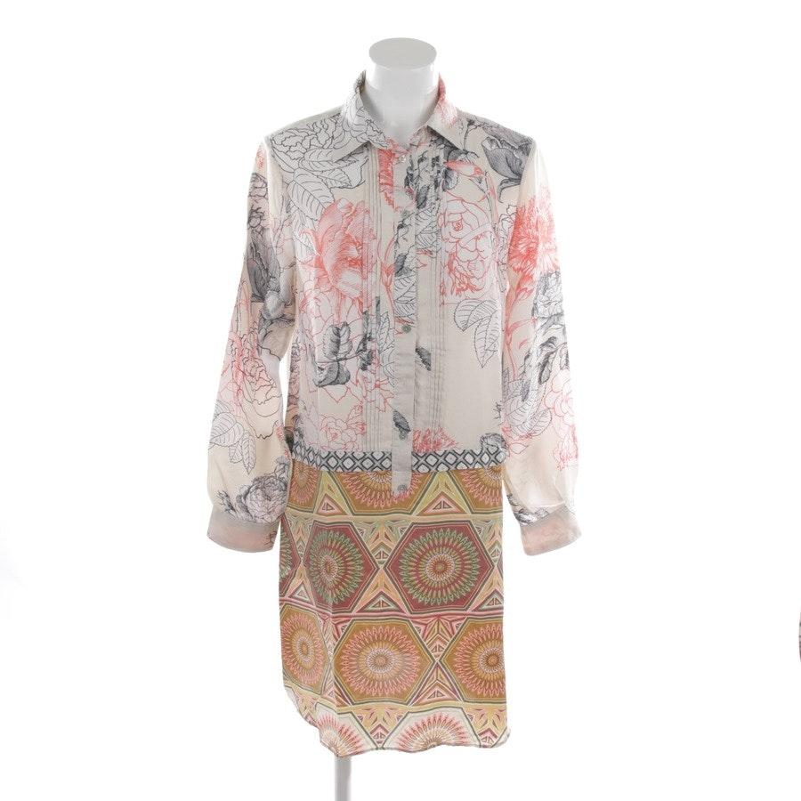 Seidenkleid von Maliparmi in Multicolor Gr. 38 IT 44