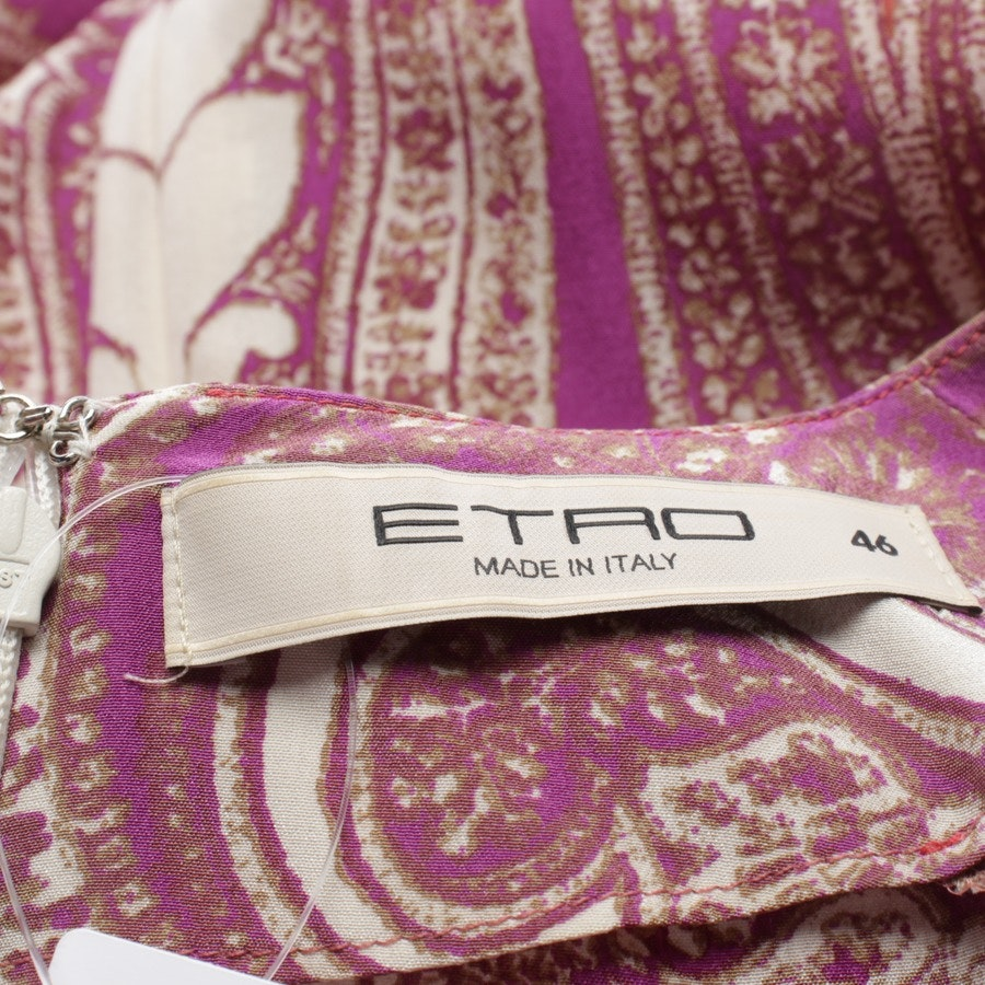 dress from Etro in rosewood and multicolor size 40 IT 46