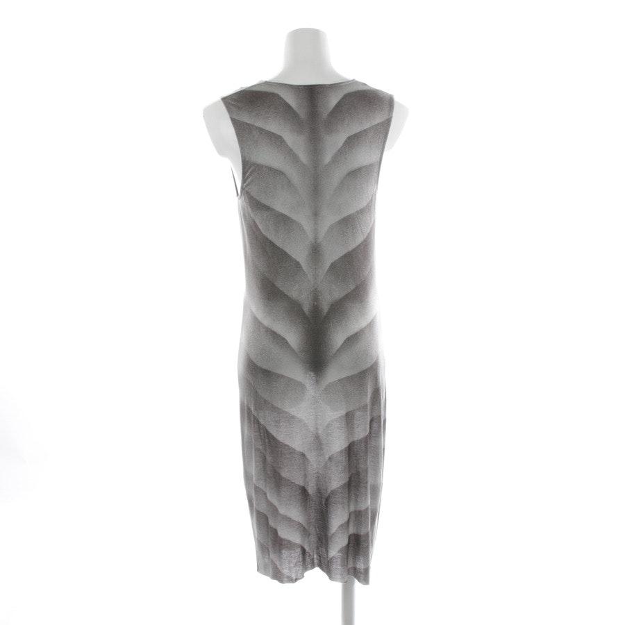 Kleid von Helmut Lang in Hellgrau und Braun Gr. S