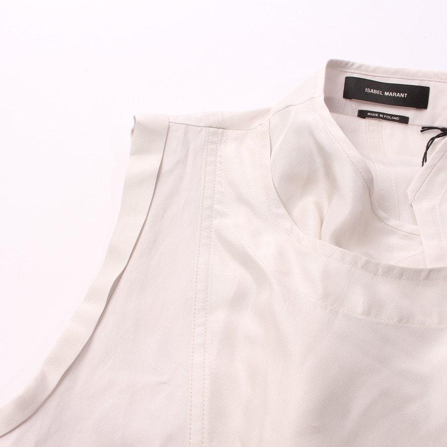 Seidenkleid von Isabel Marant in Creme Gr. DE 36 FR 38 - Neu mit Etikett!