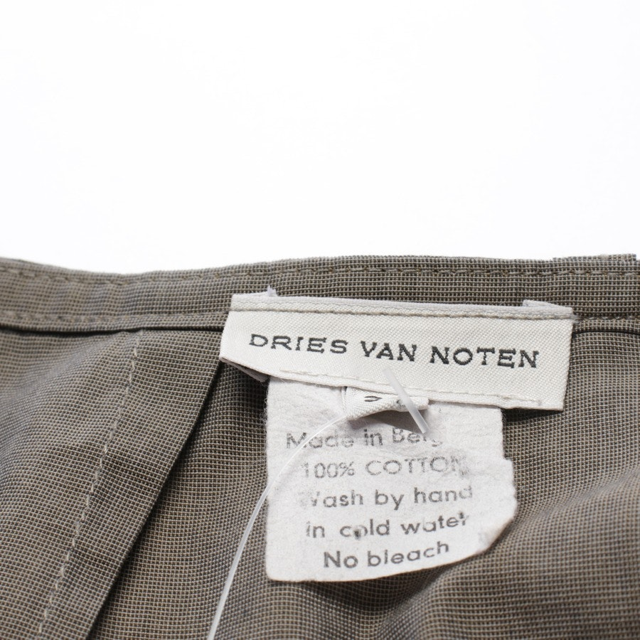 skirt from Dries van Noten in khaki size 34 FR 36