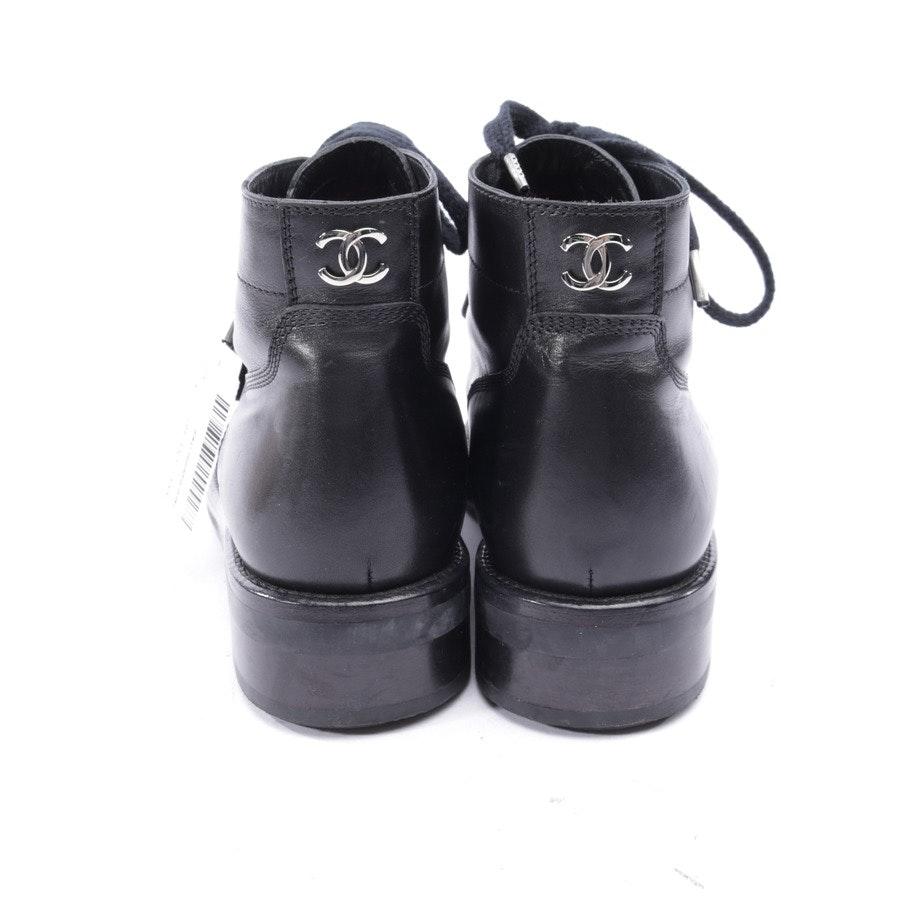 Stiefeletten von Chanel in Schwarz Gr. EUR 36,5