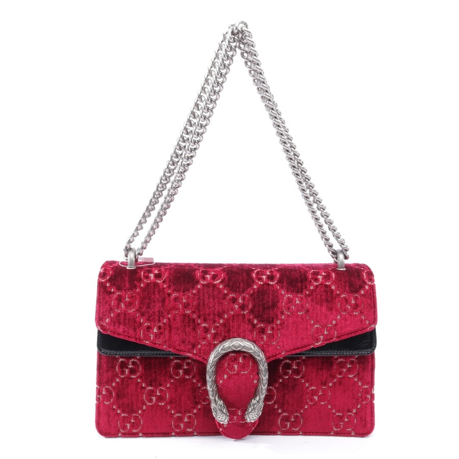 shoulder bag from Gucci in bordeaux and multi-coloured