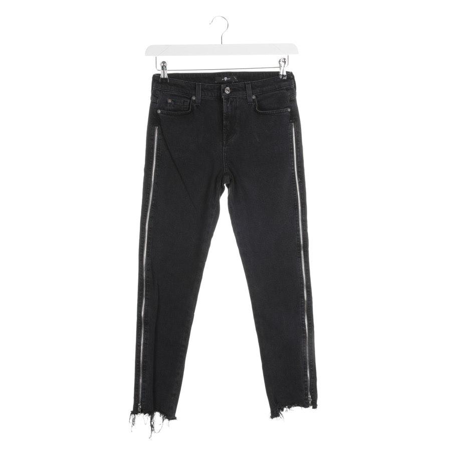 Jeans von 7 for all mankind in Dunkelgrau Gr. W26