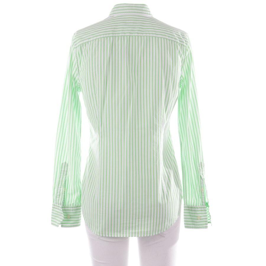 Hemd klassisch von Polo Ralph Lauren in Grün und Weiß Gr. 35-36