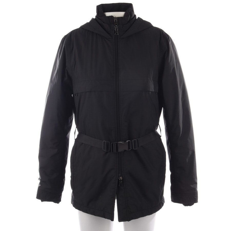 winter coat from Prada Linea Rossa in black size 40 IT 46