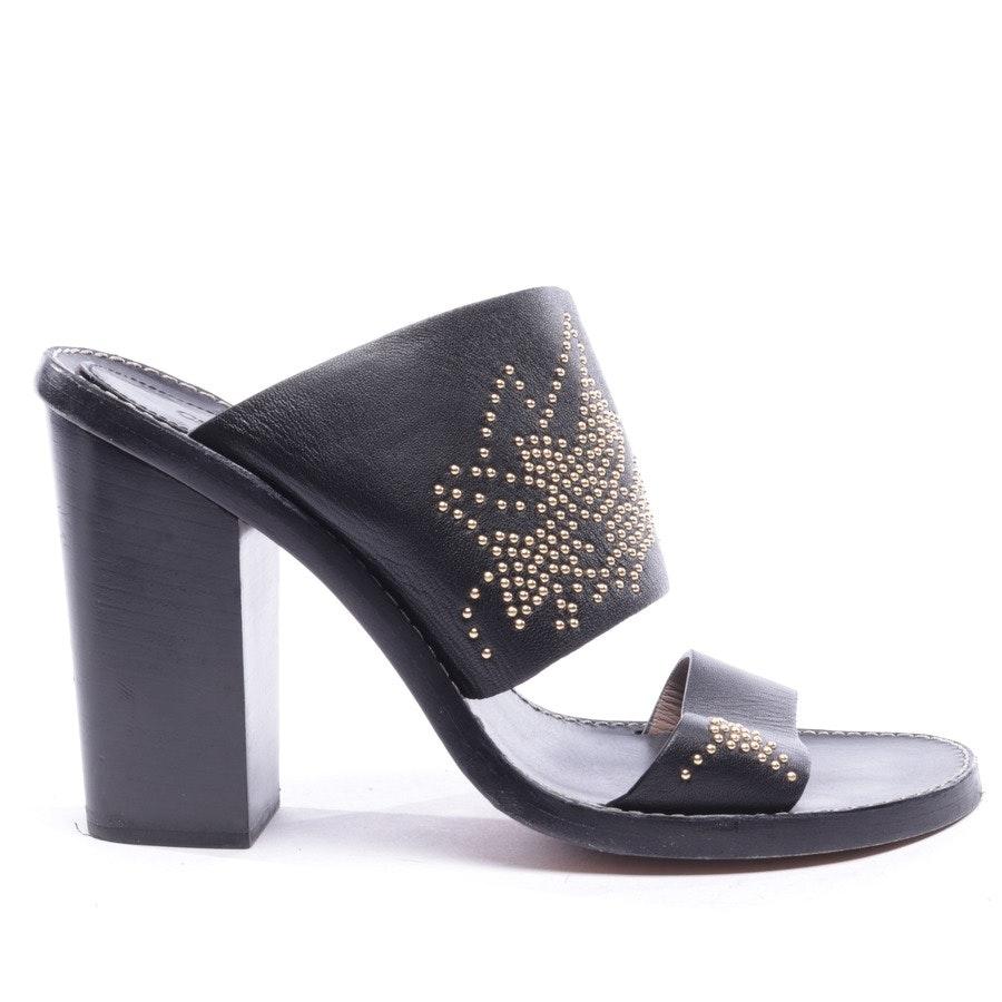 Sandaletten von Chloé in Schwarz Gr. D 40 - Susanna
