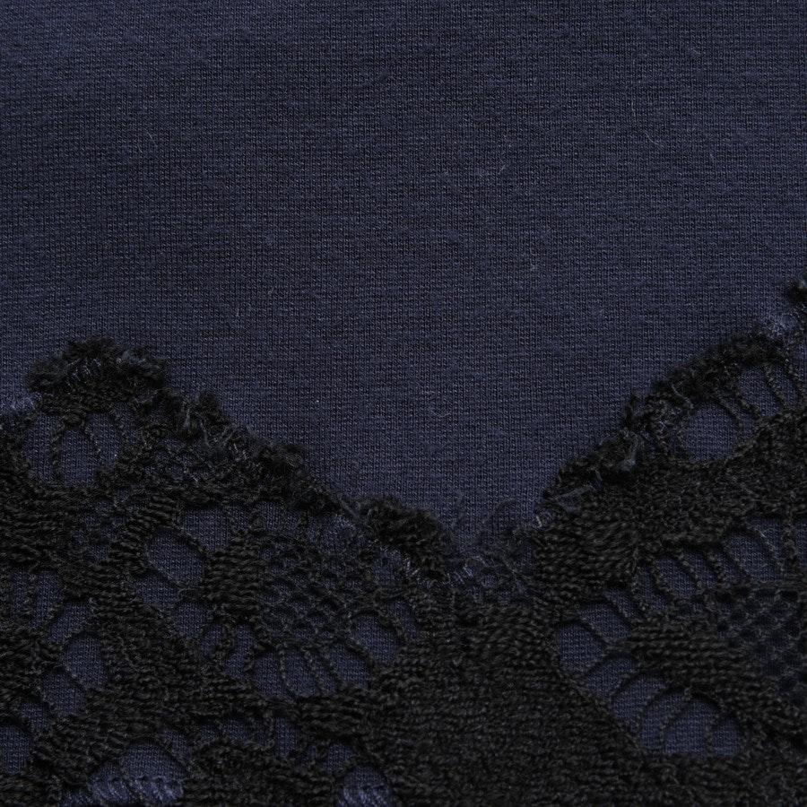 Sweatshirt von Dorothee Schumacher in Blau und Schwarz Gr. 38