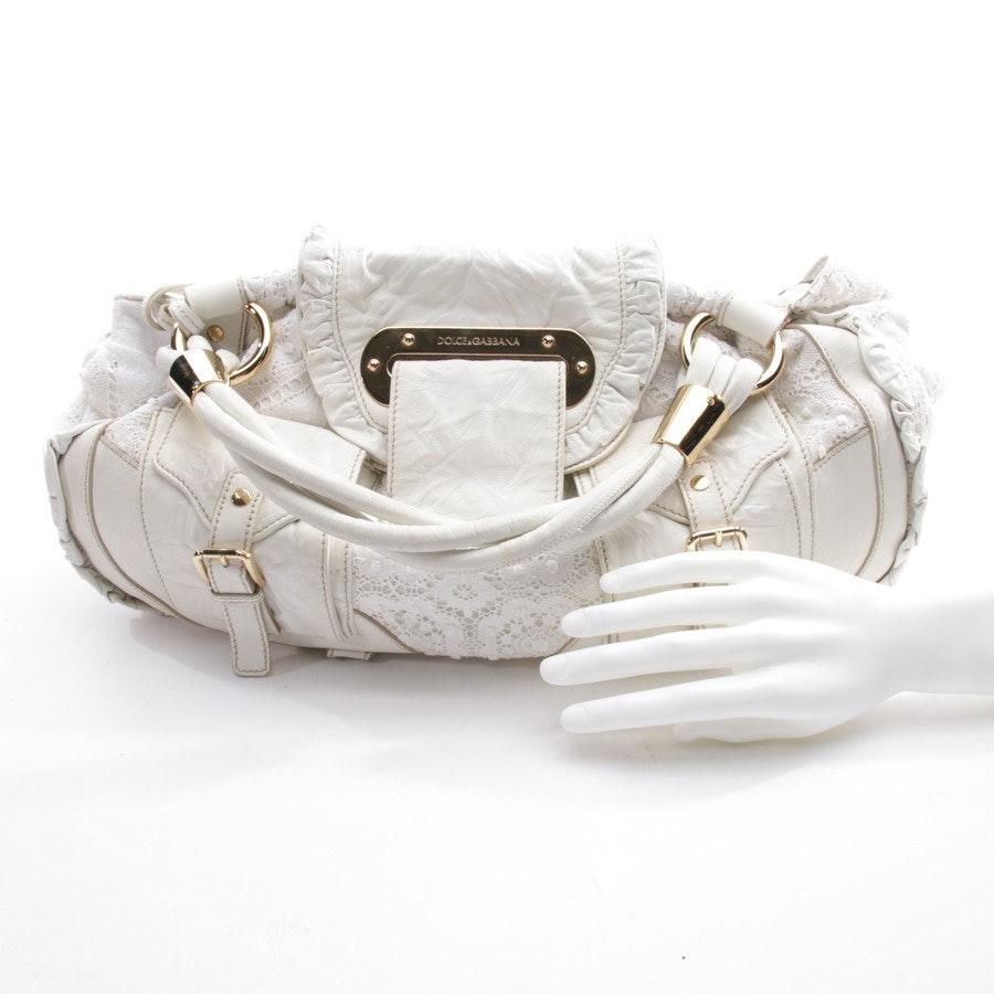 Handtasche von Dolce & Gabbana in Weiß