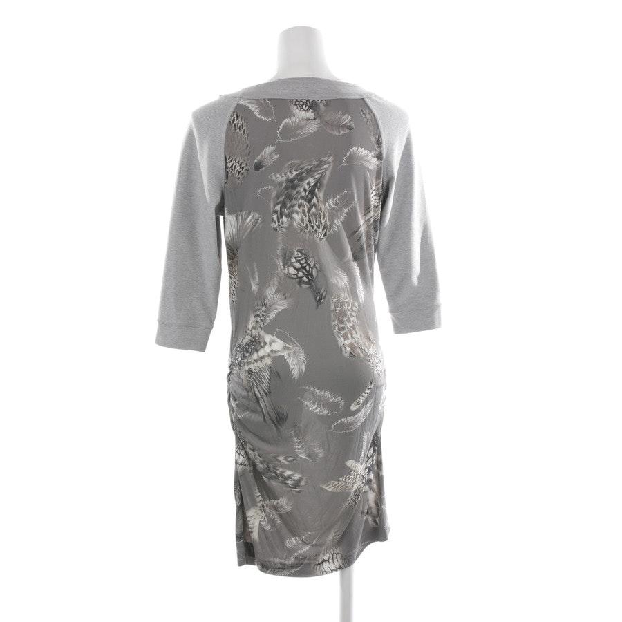 Kleid von Marc Cain in Grau meliert und Multicolor Gr. 36 N 2