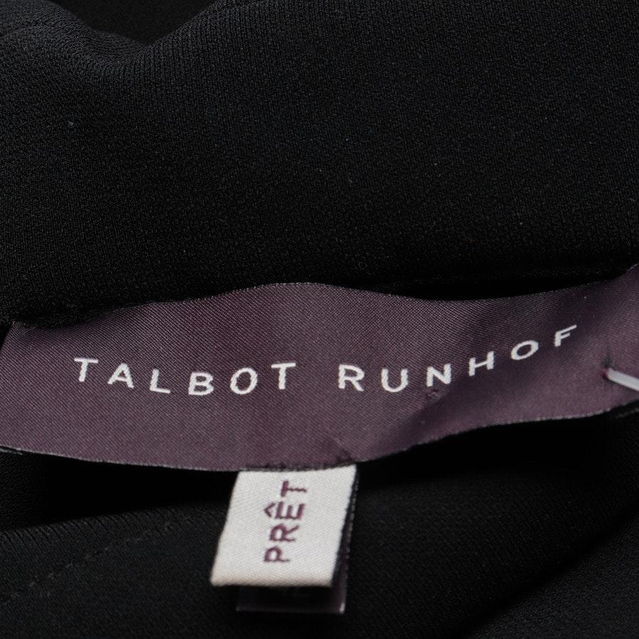 Kleid von Talbot Runhof in Schwarz und Blau Gr. 42