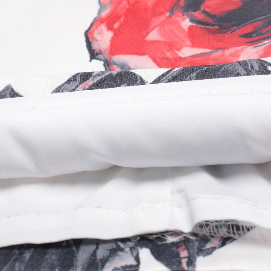 Etuikleid von Joseph Ribkoff in Weiß und Multicolor Gr. 40