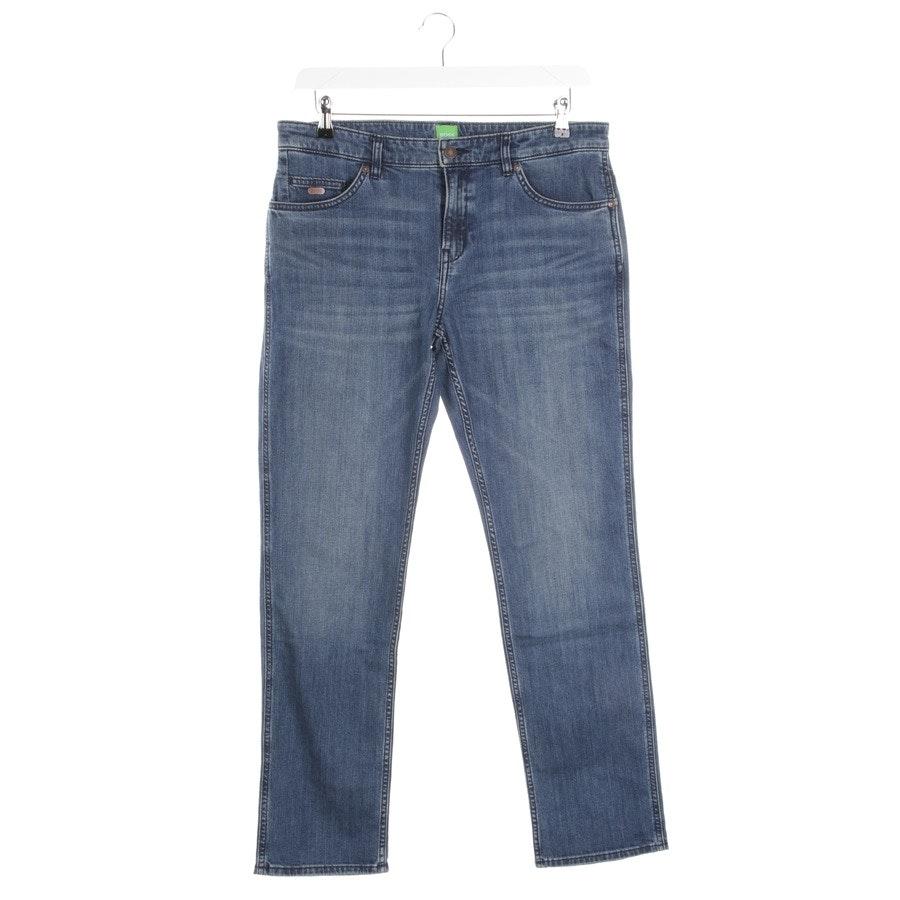 Jeans von Hugo Boss Orange in Blau Gr. W34