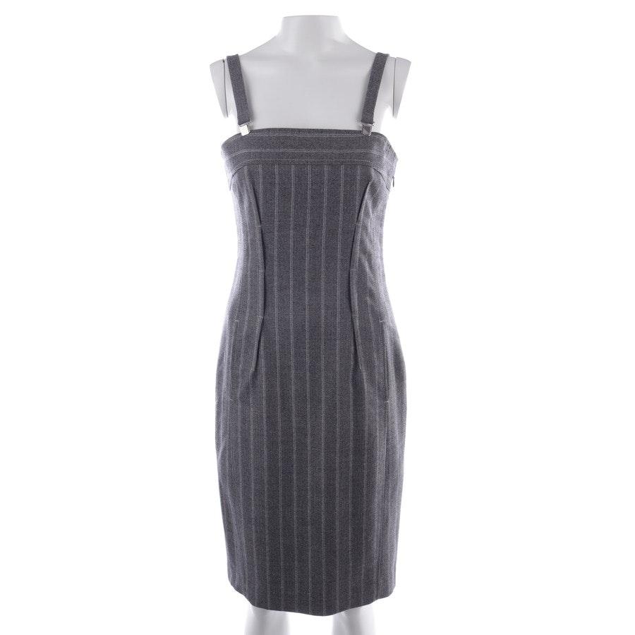 Kleid von Marc Cain in Grau und Weiß Gr. 36 N2 - Schurwolle