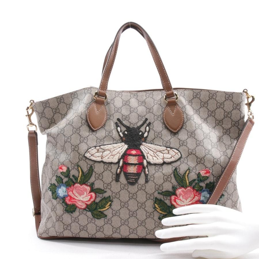 shopper from Gucci in multicolor - courrier soft gg supreme