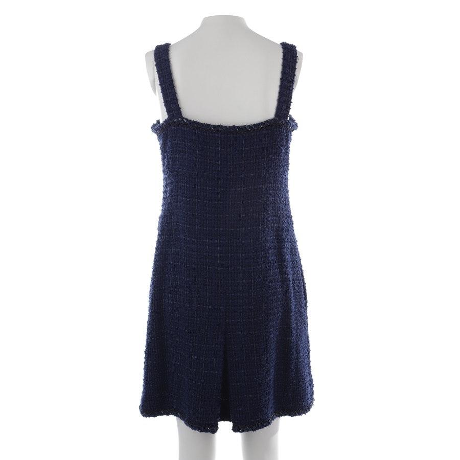 Kleid von Chanel in Dunkelblau und Schwarz Gr. 42 FR 44